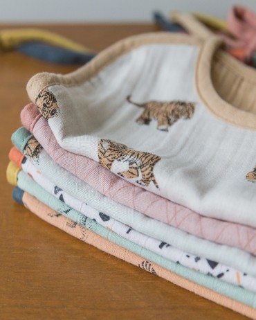 Baby Bib tiger Sable milinane