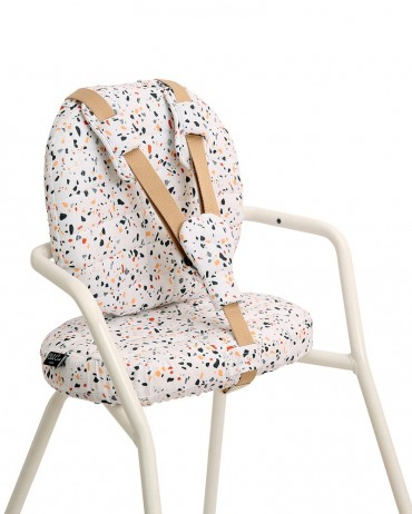 Terrazzo Charlie Crane high chair cushion