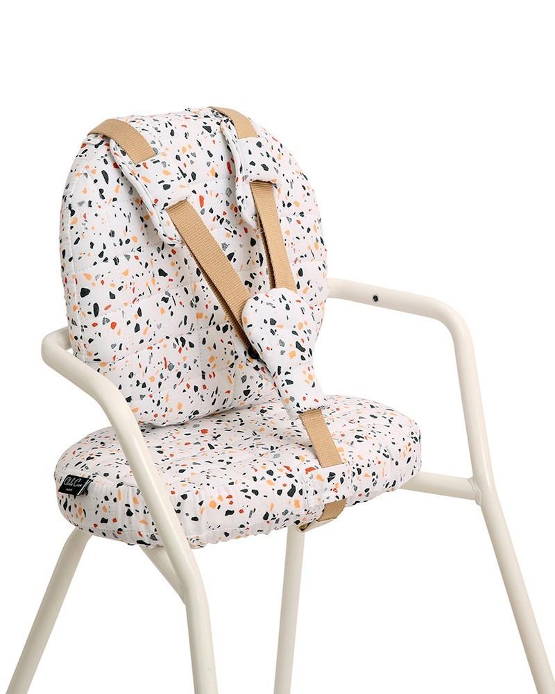 Terrazzo Charlie Crane high chair cushion