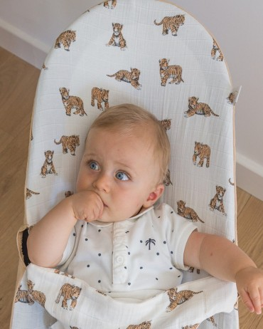 Tiger Baby Bouncer Cover