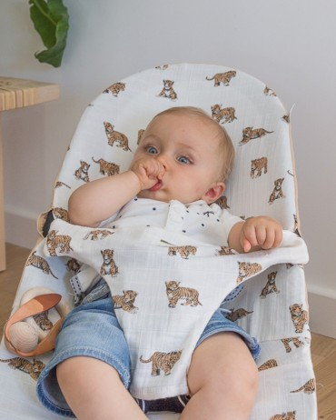 Tiger Baby Bouncer Cover for baby