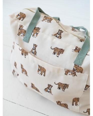 Weekend Bag Sage Tiger