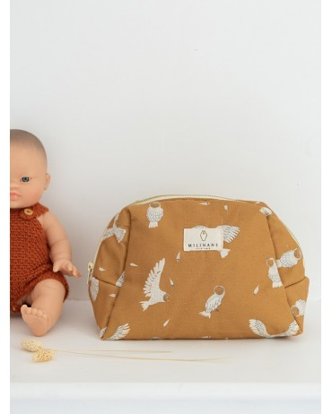Bowling Toilet Bag with Owl design