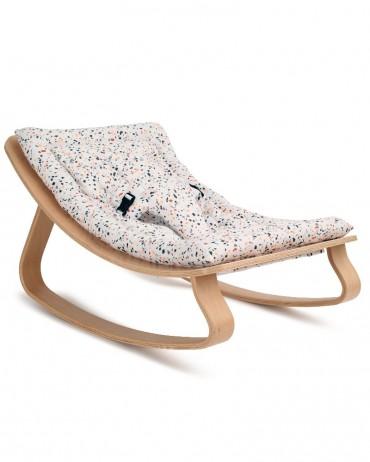 Transat LEVO with terrazzo cushion - CHARLIE CRANE