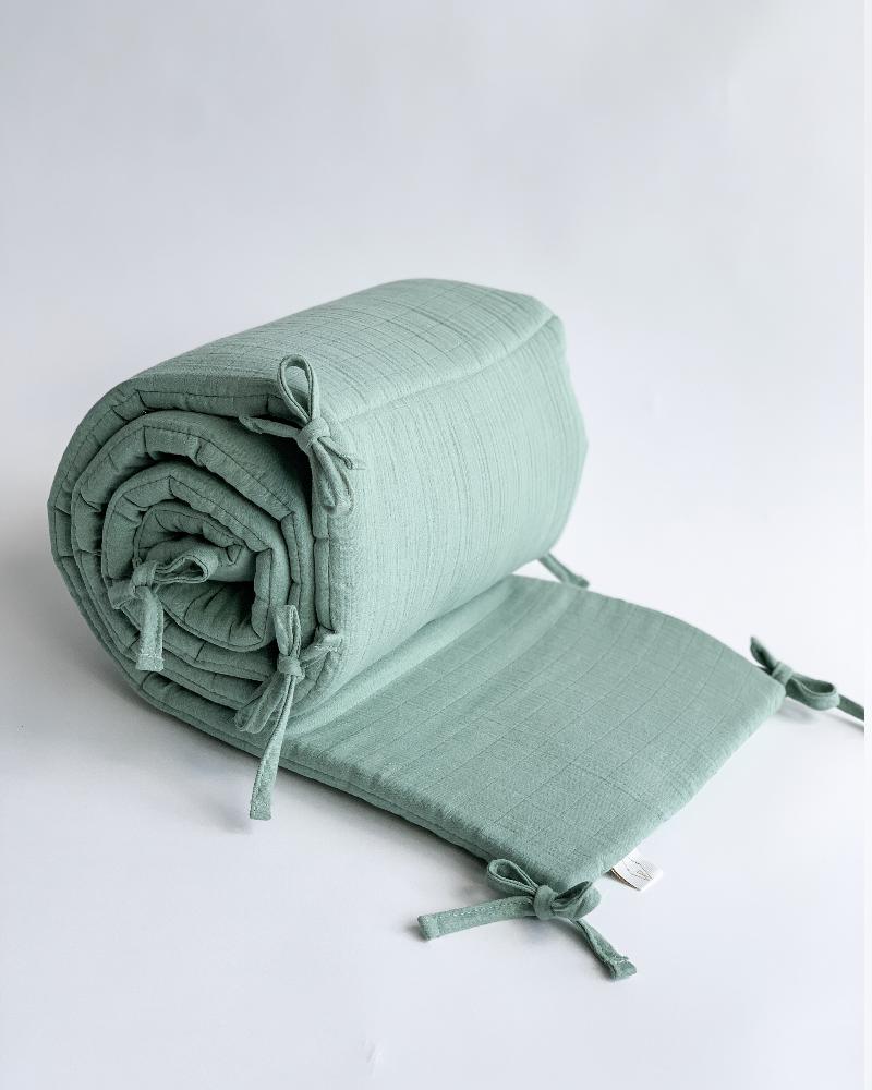 tour de lit en mousseline de coton