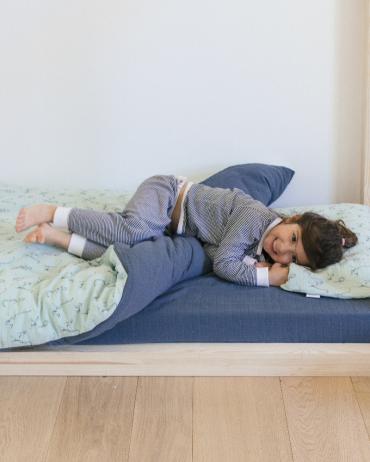 Celadon Storm Lemur Bed Set 100 x 140 cm by Milinane