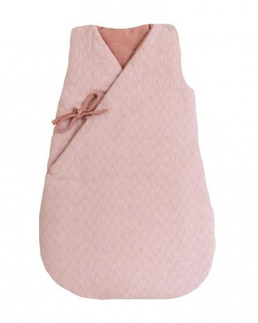 Pink girl's sleeping bag