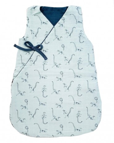 Cool Sleeping Bag with Lemur