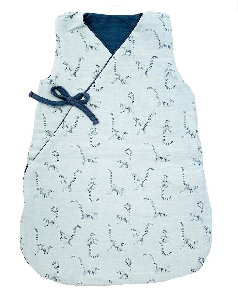 Cool Sleeping Bag with Lemur