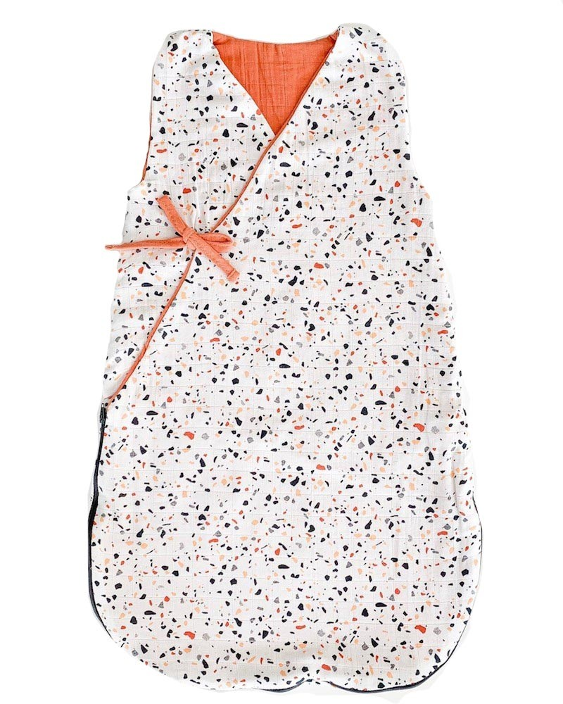 Summer Turbulette with Terrazzo pattern