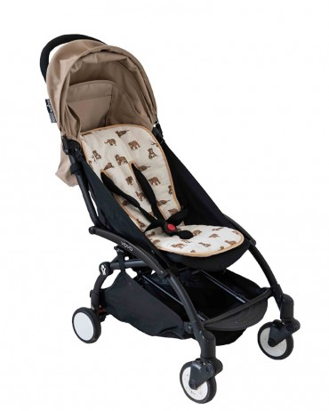 Sand tiger stroller seat