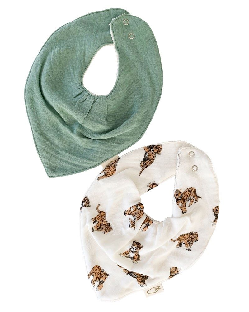 set-of-2-bandana-bibs-tiger-and-sage-mael.jpg