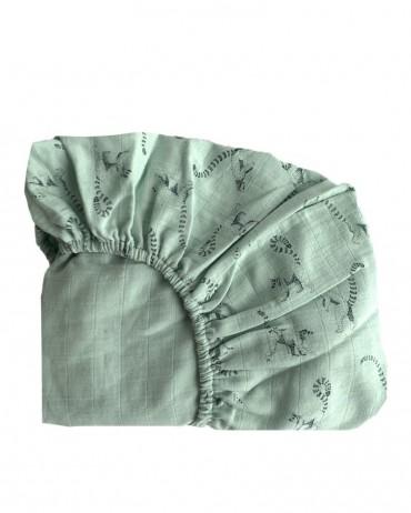 Drap housse pour lit de bébé