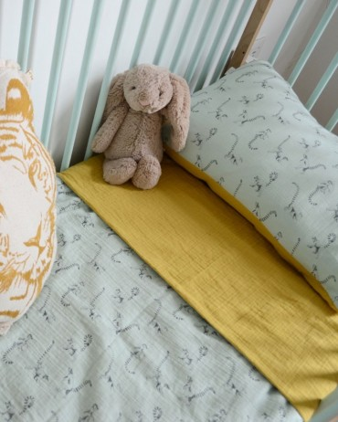 Set of Bed linen with lemur motif of the brand Milinane