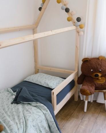 Celadon Storm Lemur Bed Set 100 x 140 cm