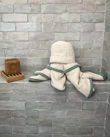 cape de bain pour la douche