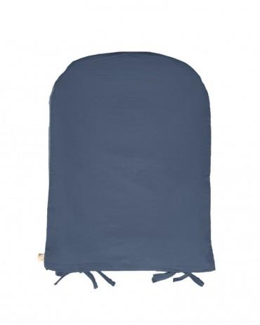 Protège matelas à langer couleur orage