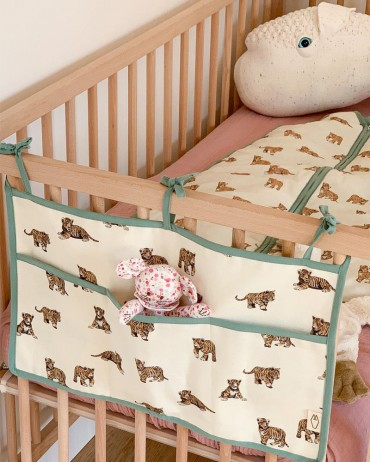 Crib for baby's bed Tiger