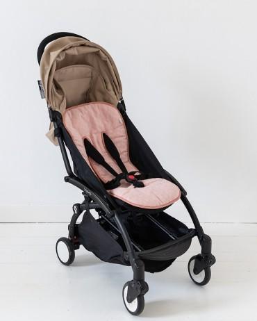 Pink Stroller Seat