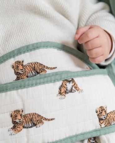 Ergonomic Blanket tiger Sauge
