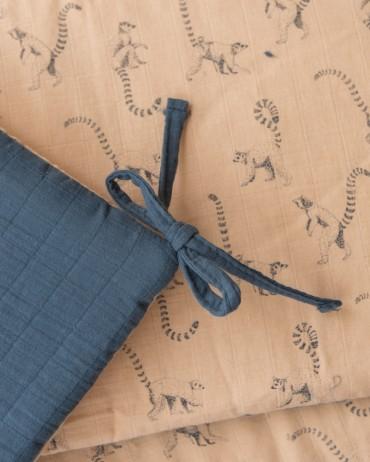 Tour de lit lémurien pêche et orage de chez milinane