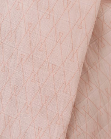 Fitted Sheet Graphic Terracotta by Milinane