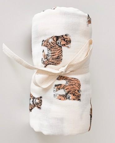 Maxi Lange tigre 110 x 110 cm