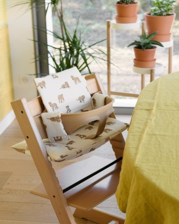 Tiger High chair cushion