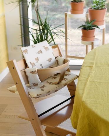 Tiger High chair cushion