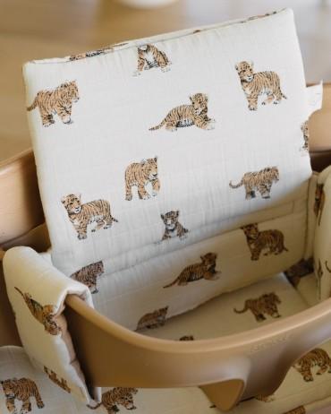 Tiger High chair cushion charlotte