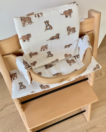 Tiger High chair cushion for baby