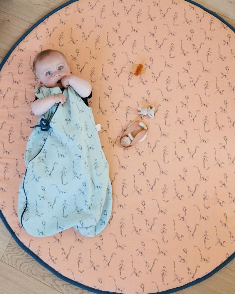 """Le linge de lit et les objets de puériculture """"by Milinane"""" sont imaginés pour réinventer la décoration de la chambre d'enfant."""