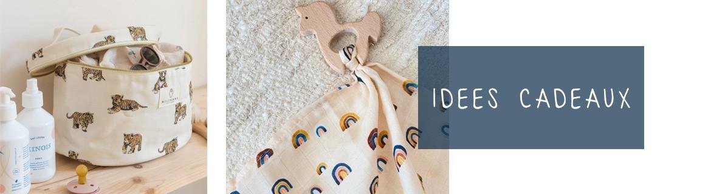 Idées cadeaux de naissance ou bébé en coton certifié Oeko-Tex l Milinane