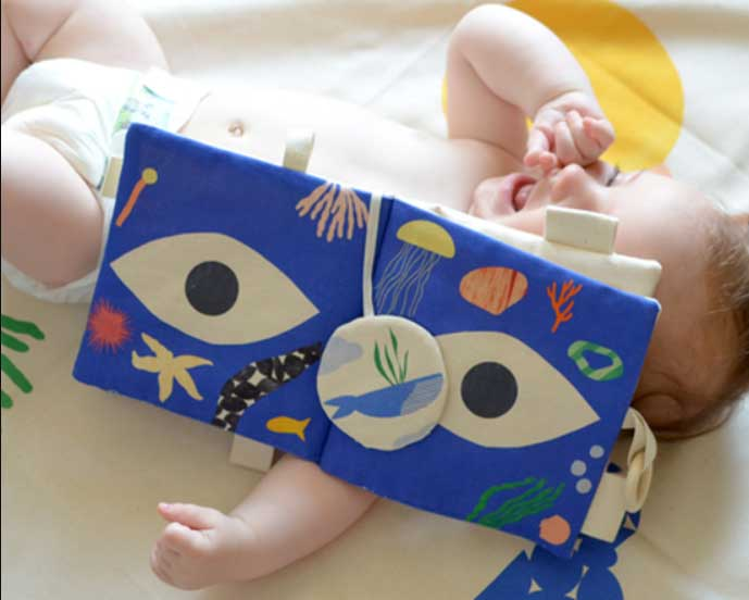 Art pour les bébés Petit point