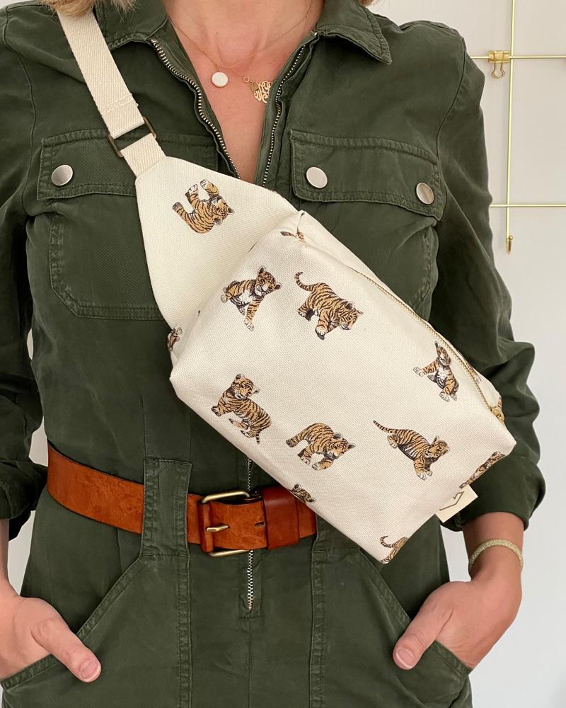 Fanny Belt bag Tiger, Milinane