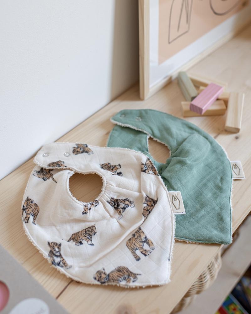 Cotton Bandana Bibs for Baby