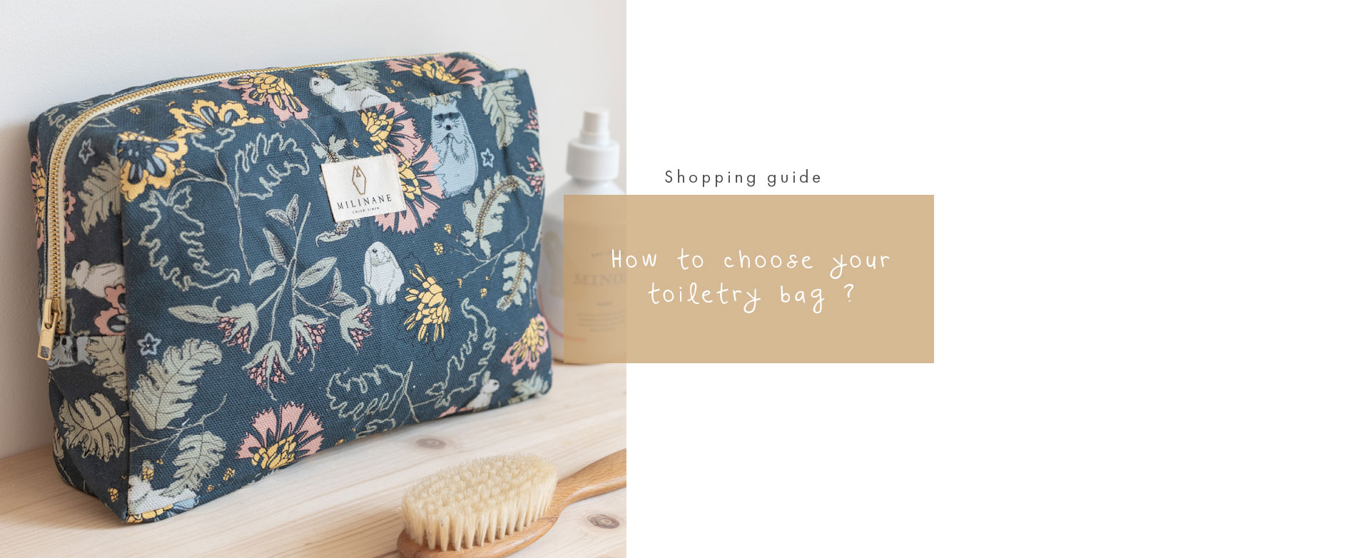 How to choose the kids toiletry bag
