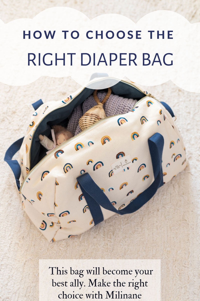 How to choose the right diaper bag