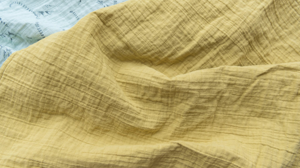 Our material : cotton muslin