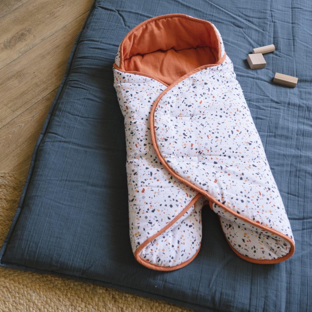 Nomadic blanket with Terrazzo