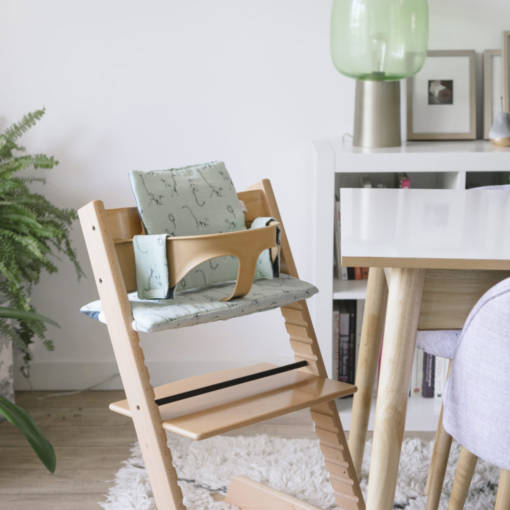 High chair cushion