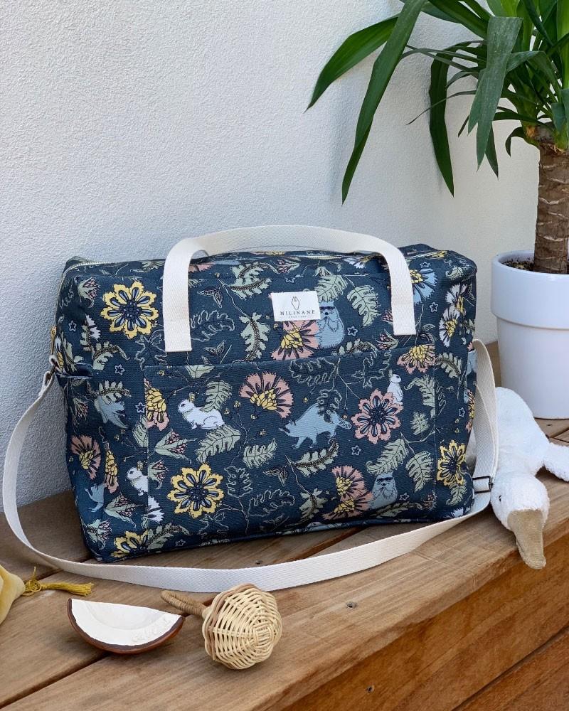 Grand sac à langer Weekend Reve Bucolique de la marque Milinane