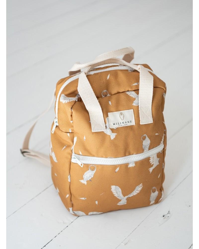 backpack owl child